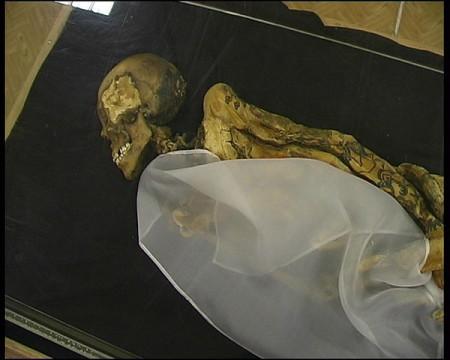Мумия принцессы Укока. Фото: Kobsev/wikipedia.org/Public Domain