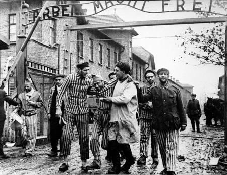 Освобождение узников Освенцима. Фото: Барвенковский/wikipedia.org/public domain