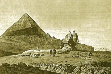 Наблюдение вогнутости сторон в конце XIX в. Фото: Bakha~commonswiki/wikipedia.org/ public domain