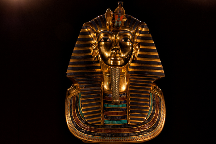 Золотая погребальная маска Тутанхомона. Фото: Hans Splinter/Hans Splinter/CC BY-ND 2.0