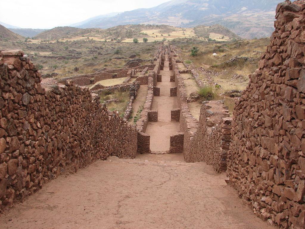 Административный центр Пикильякта, построенный цивилизацией Уари в Куско