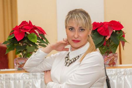 Мария Мельниченко на чемпионате по парикмахерскому искусству в Рязани. Фото: Серей Лучезарный/Великая Эпоха