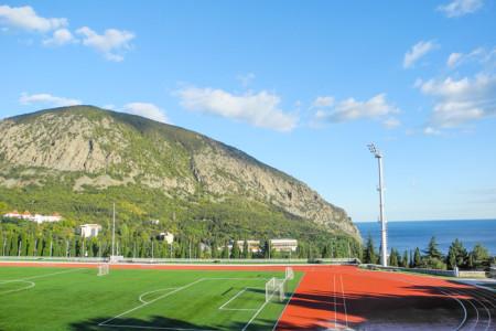 Стадион в Артеке. Фото: Алла Лавриненко/Великая Эпоха