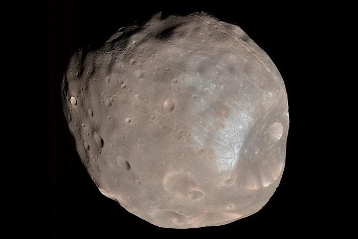 Фобос ближайший спутник Марса. Фото: nasa.gov