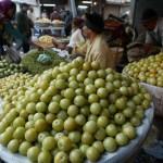 Фрукт амала — популярное растение в аюрведе. Экстракт из этого фрукта богат витамином C. Фото: Sam Panthaky/AFP/Getty Images