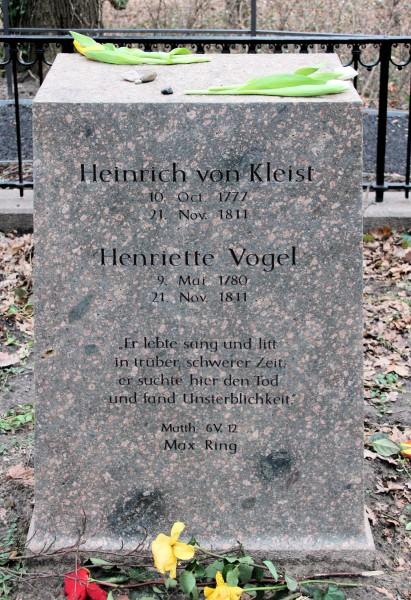 Надгробный камень Генриха и Генриетты Фото: Publik Domain/wikipedia