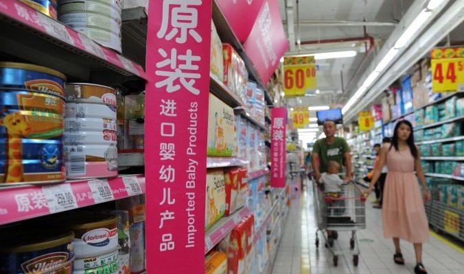 Китайские студенты стали причиной дефицита сухого молока в Европе
