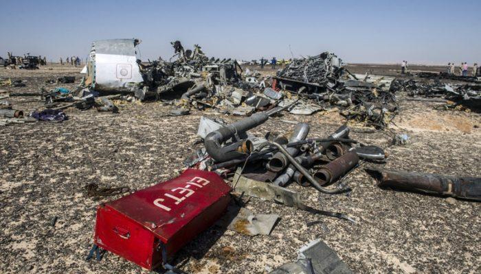 Подтверждён теракт на борту A321