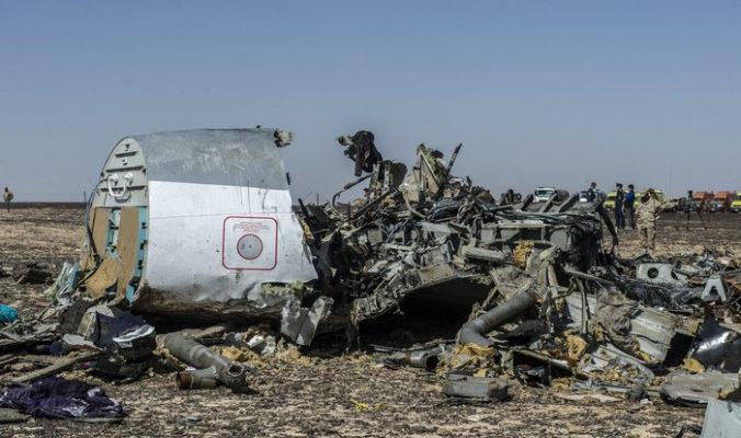 Взрывное устройство с таймером могло стать причиной крушения А321 над Египтом