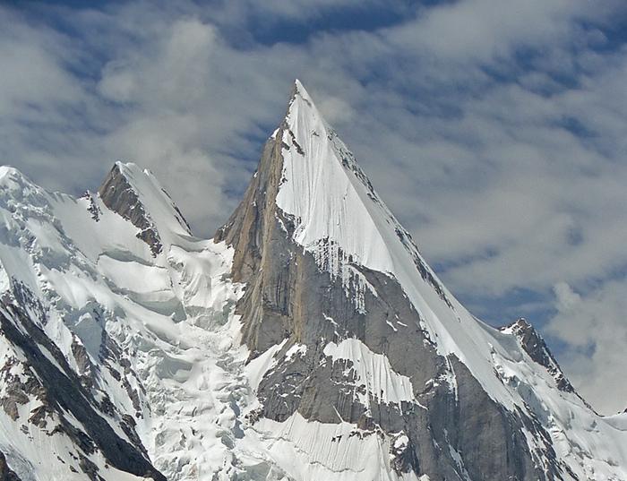Пик Лайла  в горной системе Каракорум. Фото: Фото: Laila Peak.jpg/wikipedia.org/GFDL