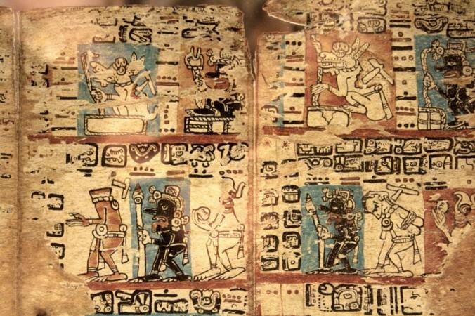 «Кодекс майя». Фото: Wikimedia Commons