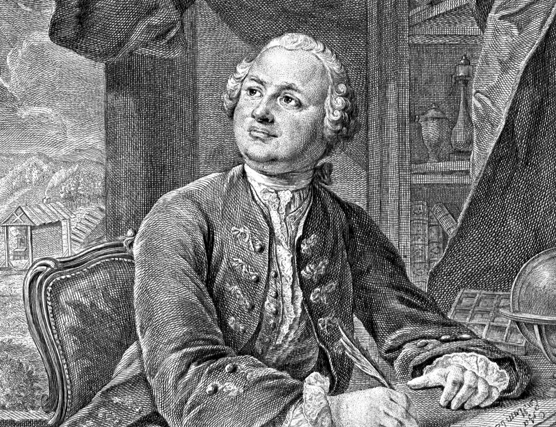 Михаил Ломоносов. Прижизненное изображение, 1757 год. Фото: Ivtorov/wikipedia.org/ public domain