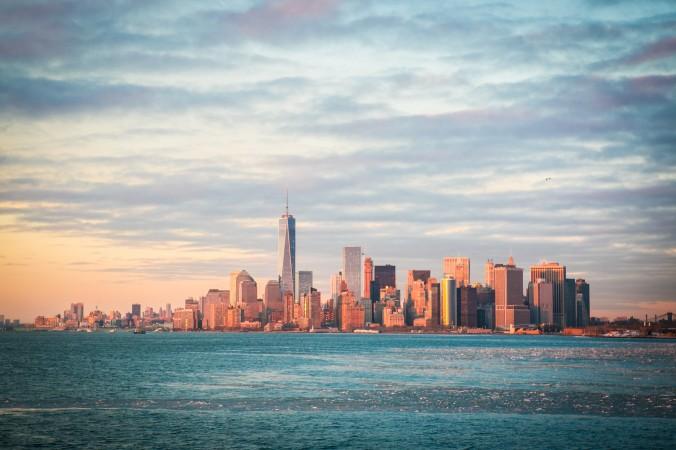 Панорама на Манхеттен, Нью-Йорк, 10 февраля 2015 г. Фото: Benjamin Chasteen/Epoch Times