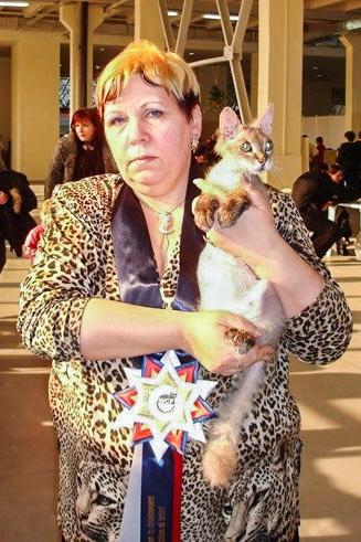 Ириной Немыкина с донским сфинксом