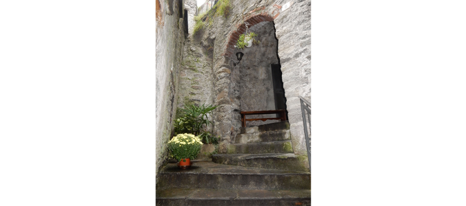Вход в Ristorante Ca De Matt в Граведоне. Фото: Carol Stigger