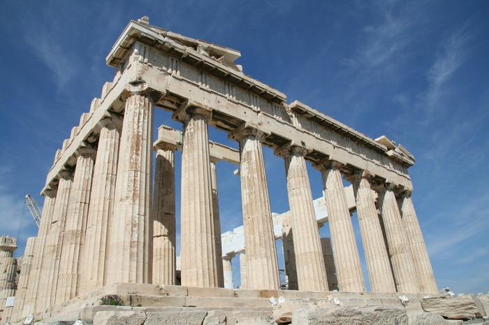 Акрополь, Греция. Фото: pixabay.com/ CC0 Public Domain