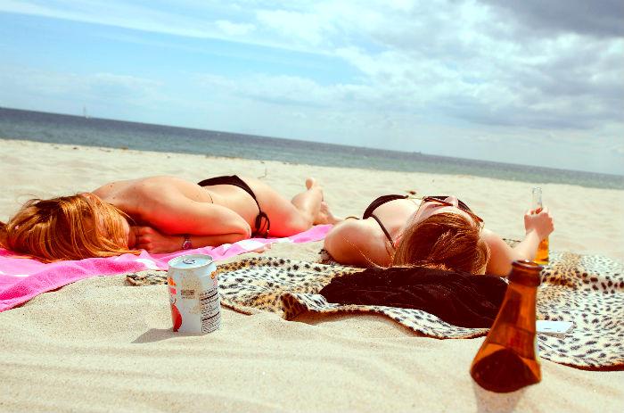 загар, пляж, рак, меланома, море