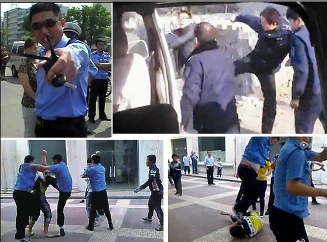 Произвол городских контролёров возмущает китайскую общественность. Источник: epochtimes.com