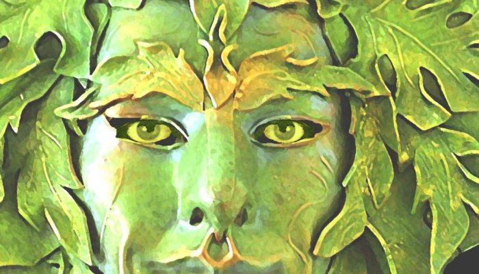 Мифический Зелёный человек — персонифицированный дух природы
