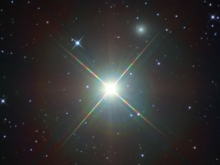 Звёздная система Бета Живописца. Фото: NASA