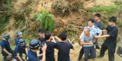 На юге Китая полицейские и бандиты избили крестьян, защищающих свою землю