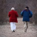 Тогда как женщинам поможет быстрая ходьба, мужчинам нужно действительно работать в поте лица. Фото: www.shutterstock.com