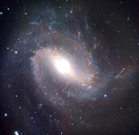 Спиральная галактика. Фото: NASA