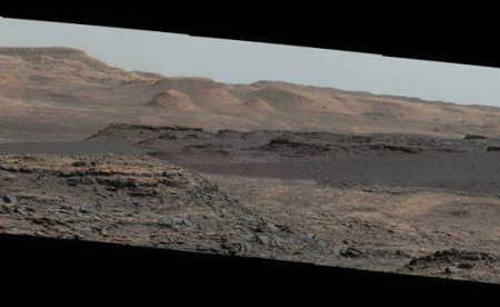 Фото марсианских дюн 25 сентября 2015 года. Фото: NASA