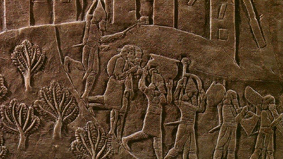 Что случилось в древнем эламском городе Хафт Тепе? Деталь рельефа. (CC BY-SA 3.0)
