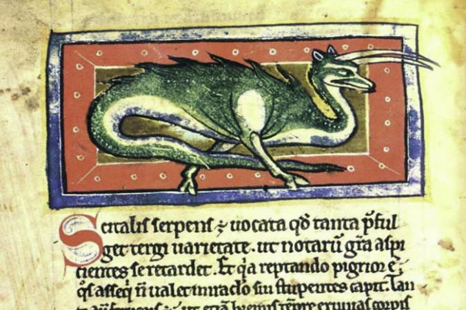 Бестиарий: справочник по средневековым чудовищам с нравственными наставлениями