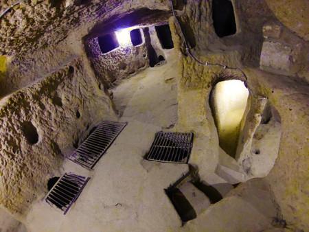 Подземный город в Турции Фото: Wikimedia Commons