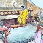 Чжансунь, императрица династии Тан, и её муж Тайцзун