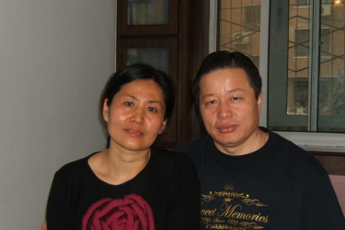 Адвокат Гао Чжишэн с супругой Гэн Хэ. 2006 год. Фото: The Epoch Times