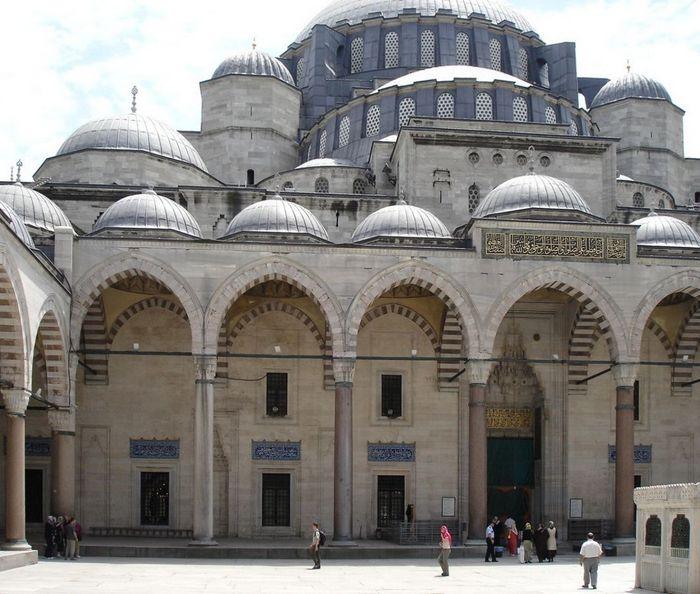 Мечеть Сулеймание в Стамбуле. Фото: Dr. 91.41/CC BY-SA 2.5