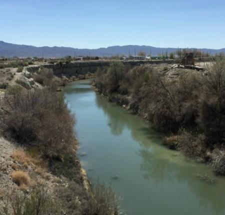 Река Гумбольдт рядом с Ловкок-Кэйв, штат Невада, где якобы жили ситека. Фото: Famartin/CC BY-SA