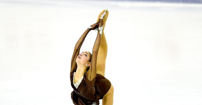Евгения Медведева. Фото: David Ramos/Getty Images