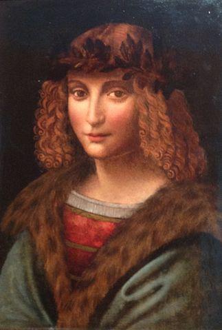 Портрет Салаи — ученика Леонардо да Винчи. Фото: U67/wikipedia.org/wikipedia.org
