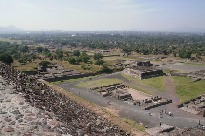 Руины столицы атеков города Теночтитлана, в котором находится пирамида Уицилопочтли. Фото: marco ruiz/flickr.com/CC BY-SA 2.0