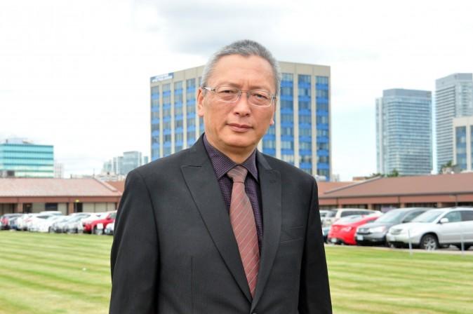 Се Вэйдун , бывший судья Верховного Народного Суда китайского режима, в Торонто, Канада, 17 августа 2015 года. Фото: Чжоу Син/Epoch Times