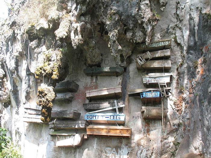 висячие гробы