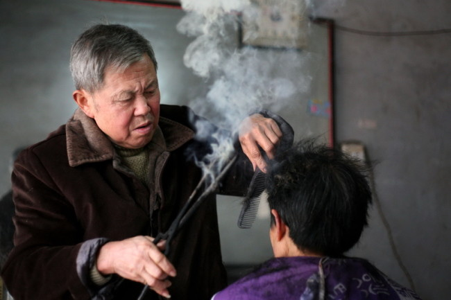 7 марта 2015 года. Город Маньян провинции Сычуань. Фото epochtimes.com