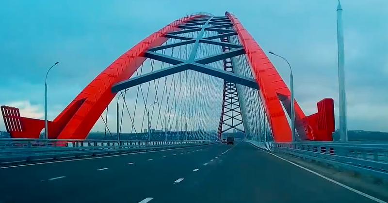 квадрокоптер, беспилотник, Бугринский мост