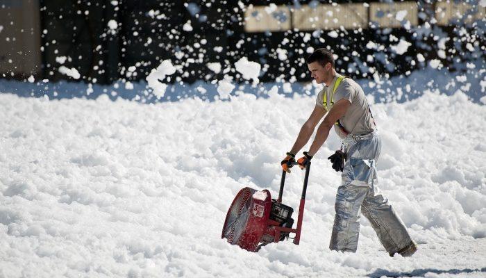 Как работает снегоуборочная техника