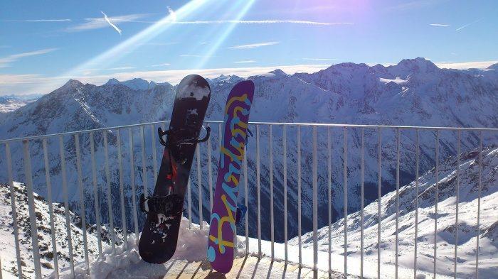 Зима! Пора выбирать сноуборд