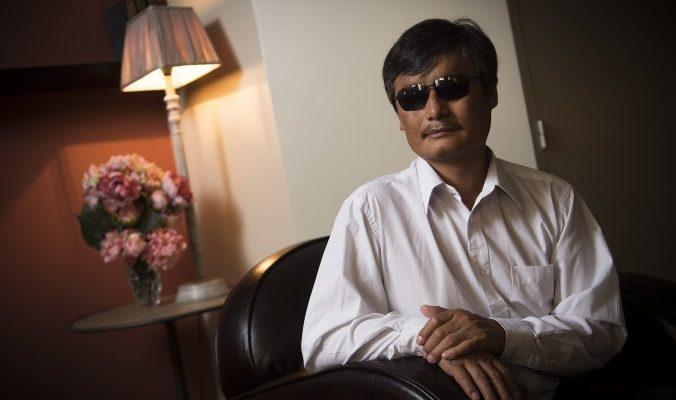 Правозащитник Чень Гуанчэн ждёт нового Китая в Новом году