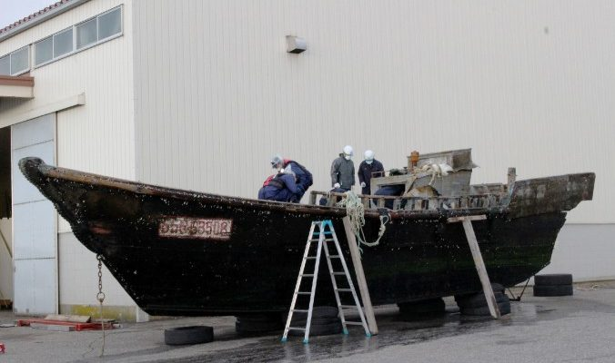 Летучий кореец: к берегам Японии прибило 11 кораблей-призраков
