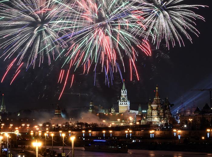 Новый Год, Кремль, фото дня