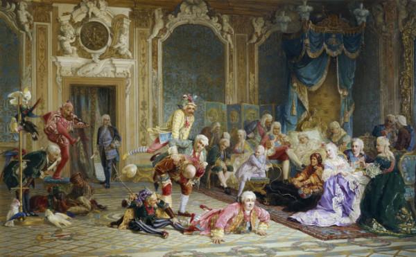 Jesters_of_empress_Anna_Ioanovna_by_V.Jacobi_(1872)