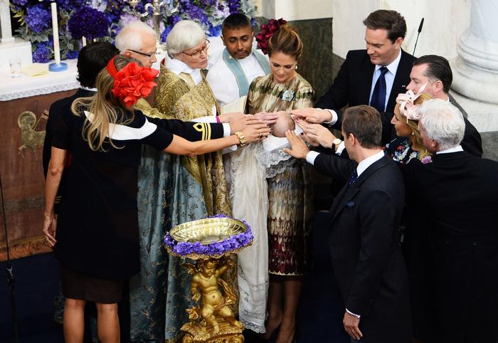 Принцесса Мадлен, Крис О'Нил, Швеция, принц Николас, королевская семья, Рождество