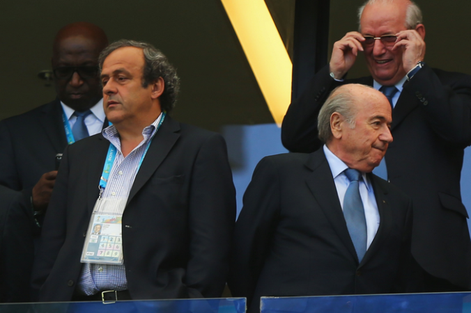 ФИФА, Блаттер, Платини, коррупционный скандал
